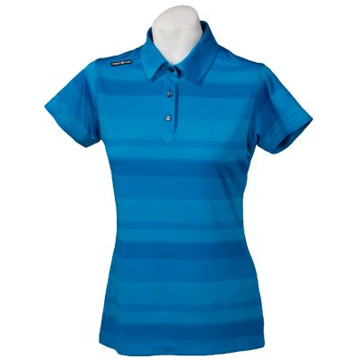Crest Link Ladies Golf Shirt – Blue Large
