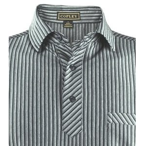 Copley Venice Golf Shirt – Grey