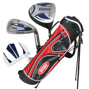 Rookie Junior Golf Set RH | 4 Pce Blue 4 to 7 YRS