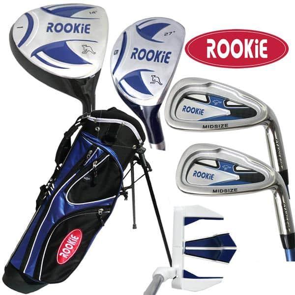 Rookie 6 Pce Kids Golf Set Blue 4 to 7 YRS