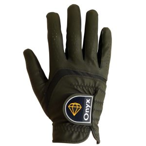 ONYX Mens Golf Glove Right Hand Black