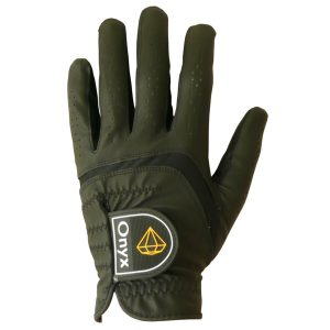 Onyx Junior Golf Glove | Kids Golf Glove | Left Hand Medium Black