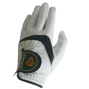 Onyx Junior Golf Glove| Kids Golf Glove | Left Hand Large White