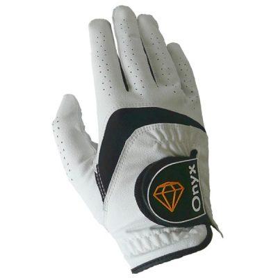 ONYX Mens Golf Glove Right Hand White