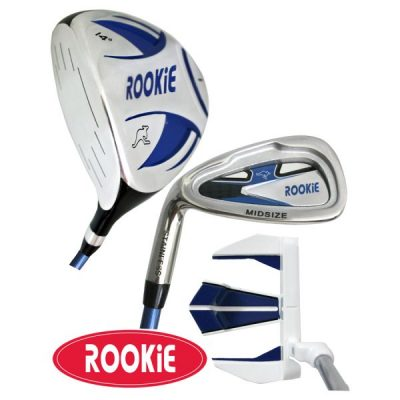 Rookie Junior Golf Set LH |  3 Pce Blue 4 to 7 YRS