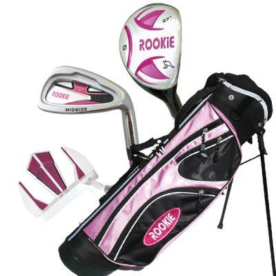 Rookie Junior Golf Set RH | 4 Pce Pink 7 to 10 YRS