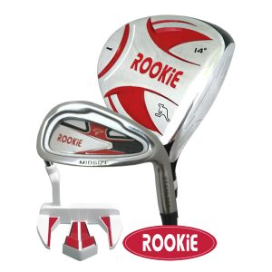 Rookie Junior Golf Set RH |  3Pce Red 10 years +