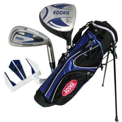Rookie 4 Pce Kids Golf Set Blue 4 to 7 YRS
