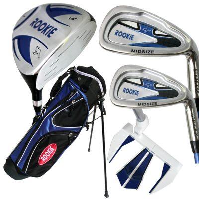 Rookie 5 Pce Kids Golf Set Blue 4 to 7 YRS
