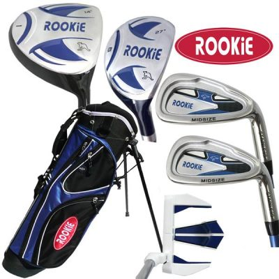 Rookie 6 Pce Kids Golf Set Blue 4 to 7 YRS