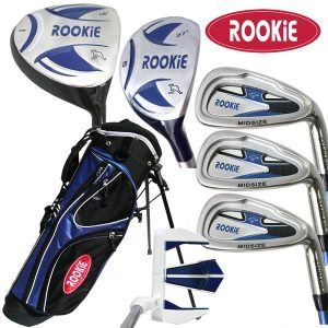 Rookie 7 Pce Kids Golf Set Blue 4 to 7 YRS