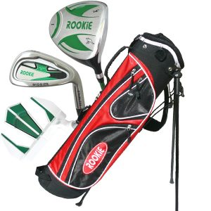 Rookie Junior Golf Set 4 Pce RH | Green 7 to 10 YRS