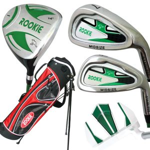 Rookie Junior Golf Set RH |  5 Pce Green 7 to 10 YRS