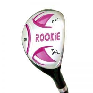 ROOKIE Kids Golf Hybrid | Pink 6 to 10 years RH
