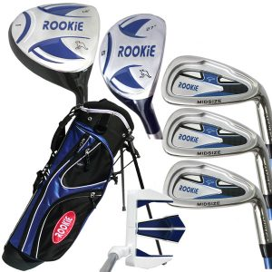 Rookie Kids Golf Set RH |  7 Pce Blue 4 to 7 YRS