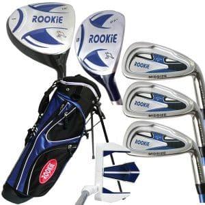 Rookie Kids Golf Set RH |  7 Pce Blue 4 to 7 YRS