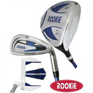 Rookie Junior Golf Set RH |  3Pce Blue 4 to 7 YRS
