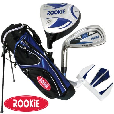 Rookie Junior Golf Set LH | 4 Pce Blue 4 to 7 YRS