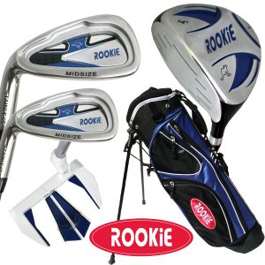 Rookie Junior Golf Set LH | 5 Pce Blue 4 to 7 YRS