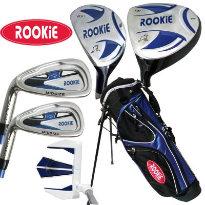 Rookie Kids Golf Set LH | 6 Pce Blue 4 to 7 YRS