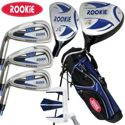 Rookie Kids Golf Set LH | 7 Pce Blue 4 to 7 YRS