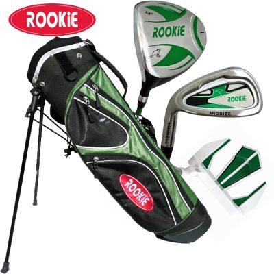 Rookie Junior Golf Set LH | 4 Pce Green 7 to 10 YRS
