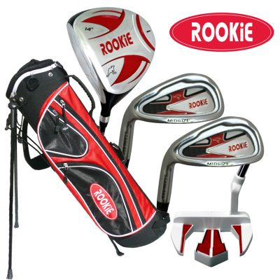 Rookie Junior Golf Set LH |  5Pce Red for 10 Yrs & Over