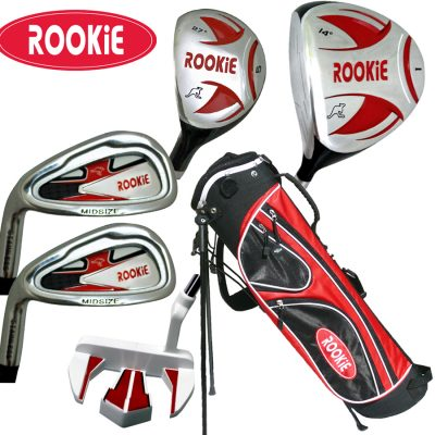 Rookie Kids Golf Set LH |  6Pce Red for 10 Yrs or Over