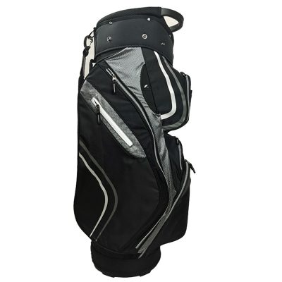 Onyx Spyder Cart Bag – Black-Silver