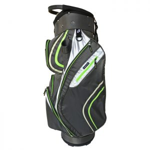 Onyx Spyder Cart Bag – Grey-Lime