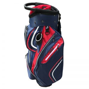 Onyx Spyder Cart Bag – Navy-Red-White