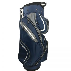 Onyx Spyder Cart Bag – Navy-Silver