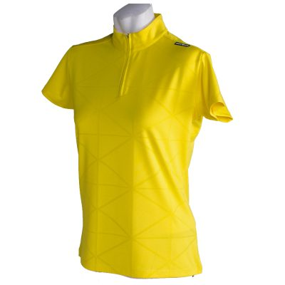 Crest Link Ladies Golf Shirt – 182-1305 Yellow Large