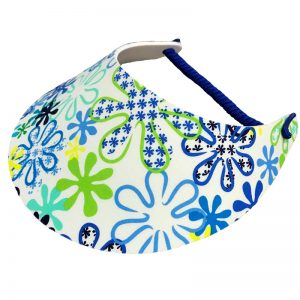 Ladies Golf Visor – Blue Spring
