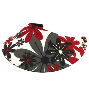 Ladies Funky Floral Golf Visor