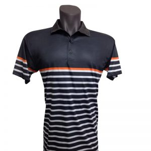 Onyx Mens Golf Shirt – Avoca Smoke – Large