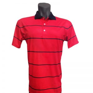 Onyx Mens Golf Shirt – Byron Red – Large
