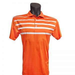 Onyx Mens Golf Shirt – Noosa Orange