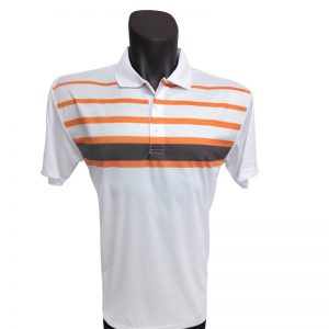 Onyx Mens Golf Shirt – Noosa White Large