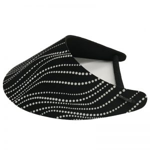 Ladies Scribbly Dots Golf Visor