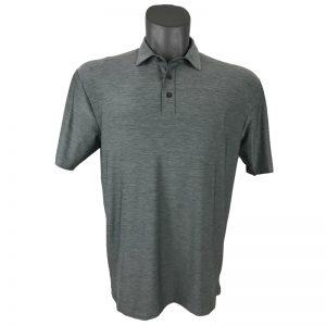 Onyx Sierra Mens Golf Shirt | Golf Polo | Grey
