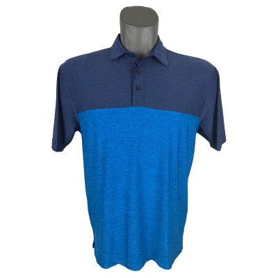 Onyx Sierra Mens Golf Shirt | Golf Polo | Navy-Royal