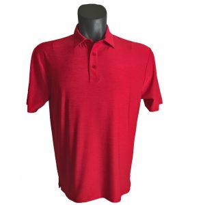 Onyx Sierra Mens Golf Shirt   Golf Polo   Red