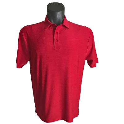 Onyx Sierra Mens Golf Shirt | Golf Polo | Red