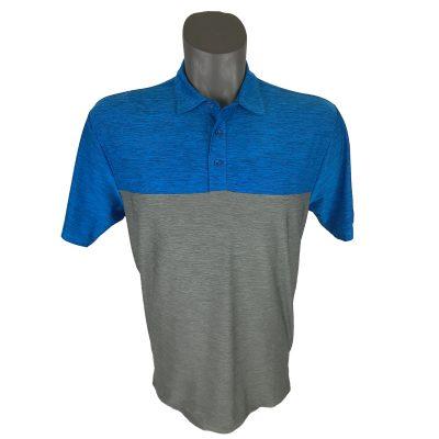 Onyx Sierra Mens Golf Shirt | Golf Polo | Royal-Grey