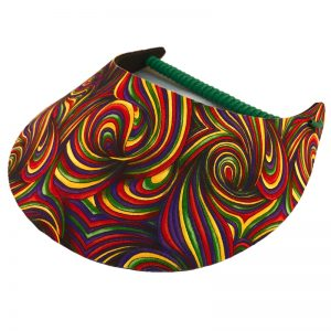 Ladies Psycho Colour Golf Visor