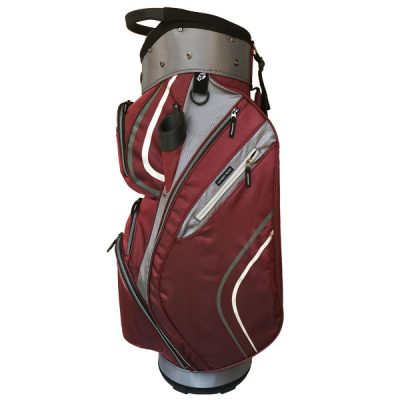 Onyx Spyder Cart Bag – Maroon-Grey-White