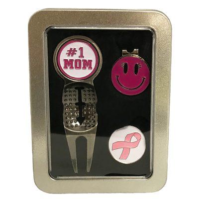 Golfer's Gift Set – Ladies Pink Set