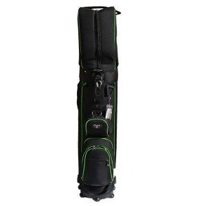 Onyx Roller Golf Travel Bag on Wheels – Black/Green