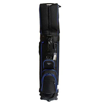 Onyx Roller Golf Travel Bag on Wheels – Black/Blue